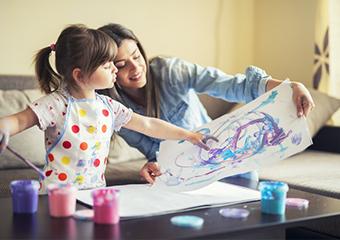 Imagem ilustrativa da solução Como entreter as crianças em situação de isolamento?