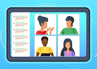 Imagem ilustrativa da solução Clube Porvir gratuito: 'Como engajar seus alunos em atividades remotas'