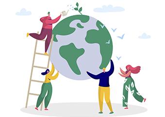 Imagem ilustrativa da solução Educação e sustentabilidade: confira livros didáticos para baixar