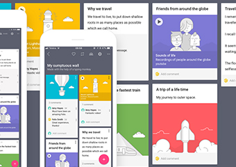Imagem ilustrativa da solução Padlet: plataforma para organizar aulas e atribuir tarefas