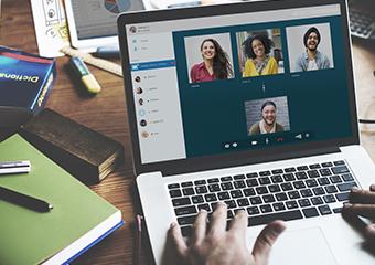 Imagem ilustrativa da solução Papo de futuro: Amplifica conversa sobre ferramentas digitais para professores e escolas
