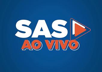 Imagem ilustrativa da solução SAS Educação: aulas abertas para alunos de todo o Brasil