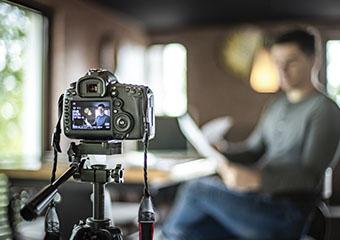 Imagem ilustrativa da solução Passo a passo para preparar uma videoaula