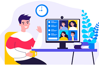 Imagem ilustrativa da solução Como realizar videoconferências com estudantes no Google Meet