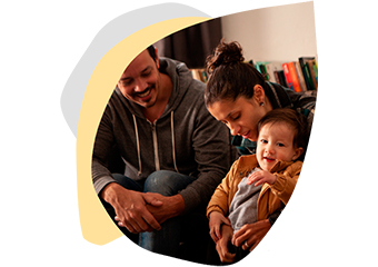 Imagem ilustrativa da solução Guia de brincadeiras para famílias com crianças do nascimento aos 6 anos