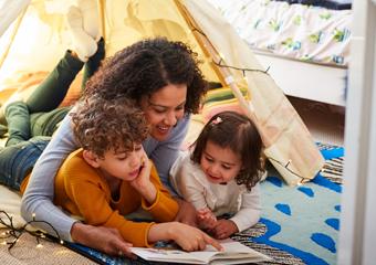 Imagem ilustrativa da solução Como a leitura pode ajudar as famílias em tempos de quarentena?