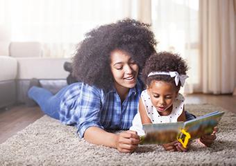 Imagem ilustrativa da solução A Taba realiza ciclo de conversas online sobre leitura com bebês