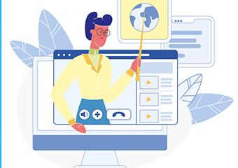 Imagem ilustrativa da solução Salas de aula virtuais da Aliança Brasileira pela Educação podem ser usadas por professores