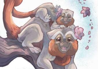 Imagem ilustrativa da solução Livro para colorir disponível online ensina crianças sobre animais da Amazônia