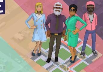 Imagem ilustrativa da solução Moveaê: jogo online para discutir segurança, cidadania e sustentabilidade com as crianças