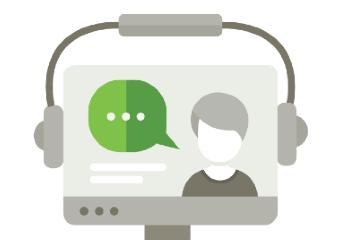 Imagem ilustrativa da solução Ideias e plataformas para customizar videoaulas