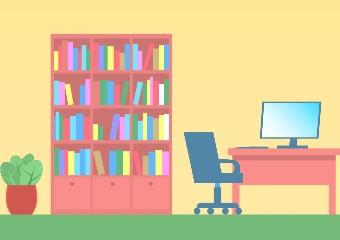 Imagem ilustrativa da solução Aprenda a organizar a sua estante de leitura em casa