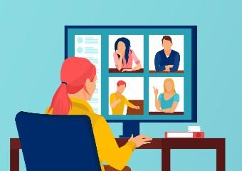 Imagem ilustrativa da solução Podcast dá dicas para professor organizar home office e dormir melhor