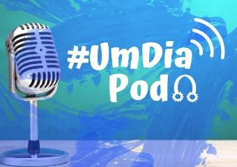 Imagem ilustrativa da solução #UmDiaPod: podcast feito por professores aborda temas e assuntos diversos