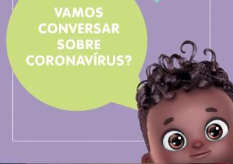 Imagem ilustrativa da solução Nenê do Zap conversa sobre coronavírus e os cuidados na primeira infância