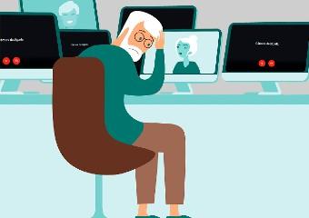 Imagem ilustrativa da solução Em aulas remotas, professores devem tomar ainda mais cuidado com a voz