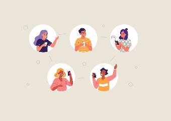 Imagem ilustrativa da solução Grupo de WhatsApp é espaço seguro para alunos desenvolverem a argumentação