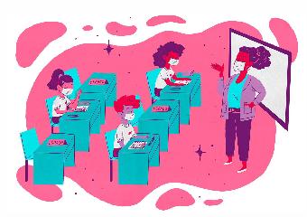 Imagem ilustrativa da solução Nova Escola Box: uma caixa de ideias sobre Ensino Híbrido