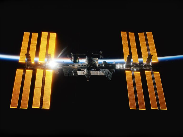 Imagem ilustrativa da solução Estação Espacial Internacional: uma morada no espaço